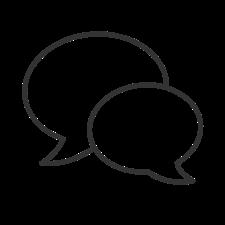 baloes de conversa