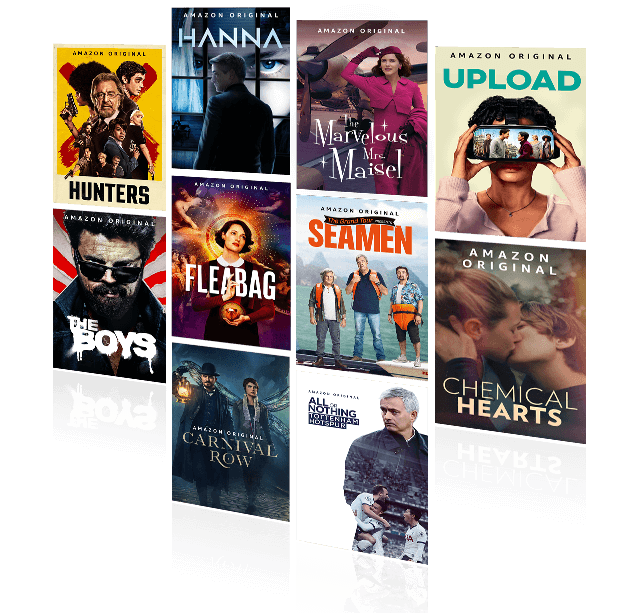 capas de séries amazon prime vídeo