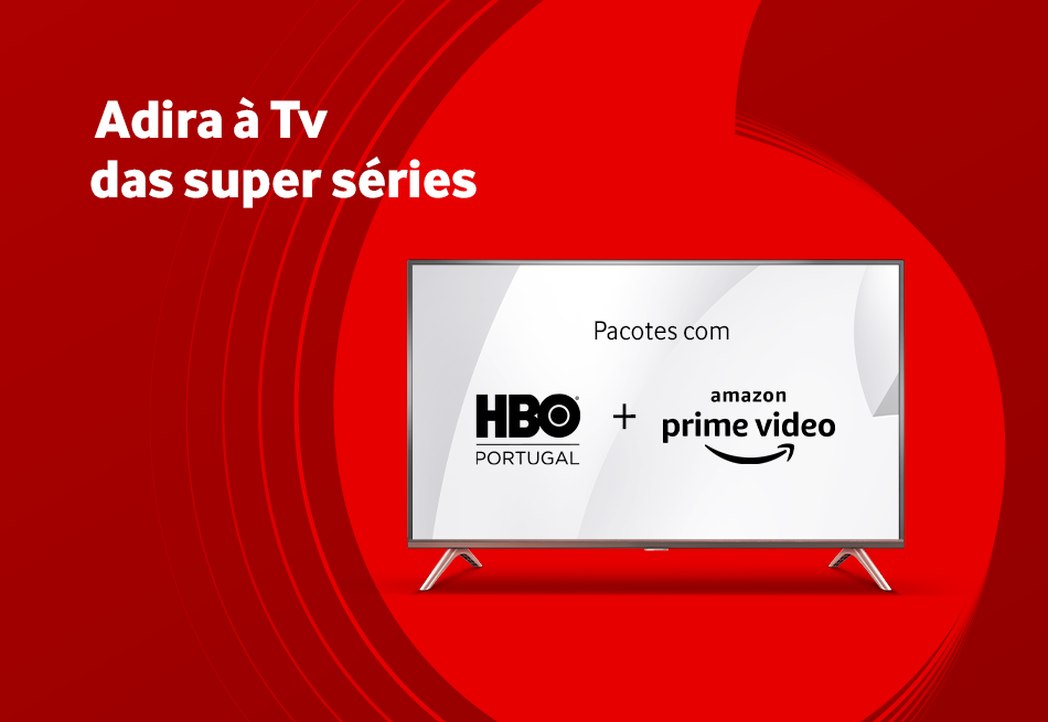 Tv da Vodafone com super séries