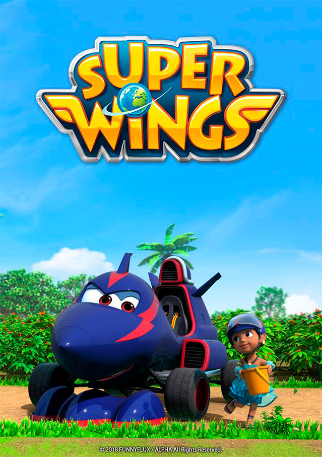 Cartaz da série Super Wings