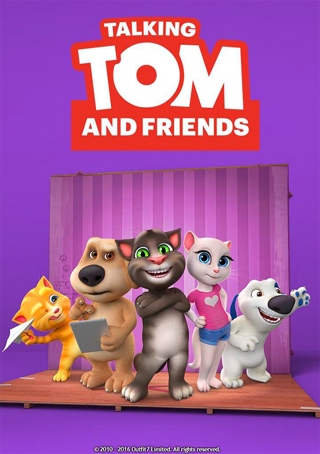 Cartaz da série Talking Tom and friends