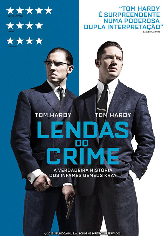 Cartaz do filme Lendas do crime